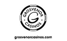 Grosvenor Casino dark logo